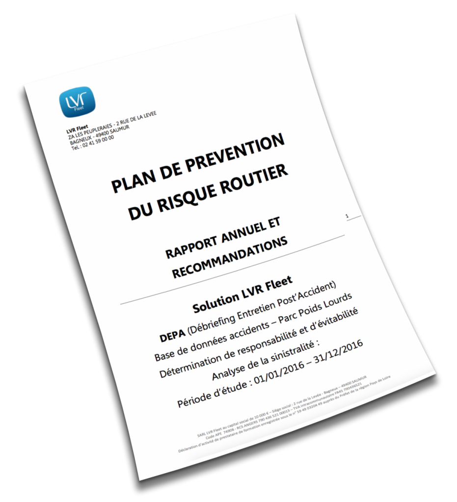 Mise en place du Plan de Prévention du Risque Routier