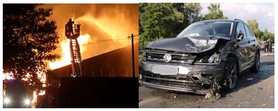 Risque incendie et Risque routier